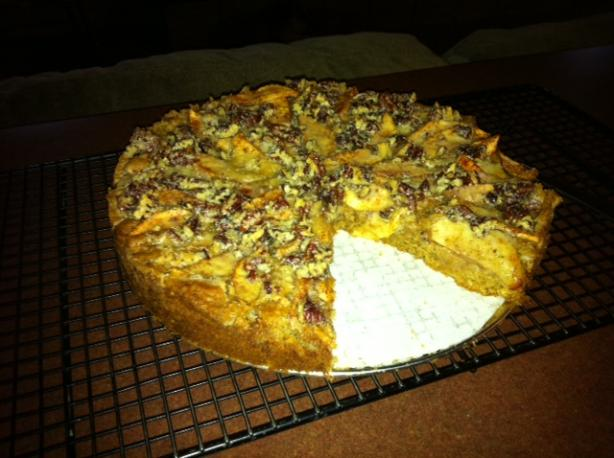 Praline Apple Cake