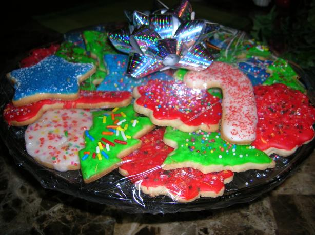 Perfect Holiday Sugar Cookies