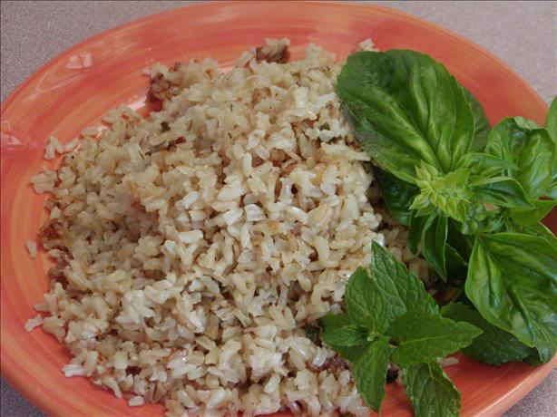 Basmati Rice With Basil and Mint