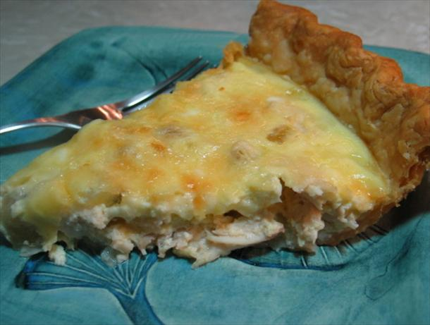 Sour Cream Chicken Tarts