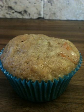 Fruity Nutty Zucchini Muffins
