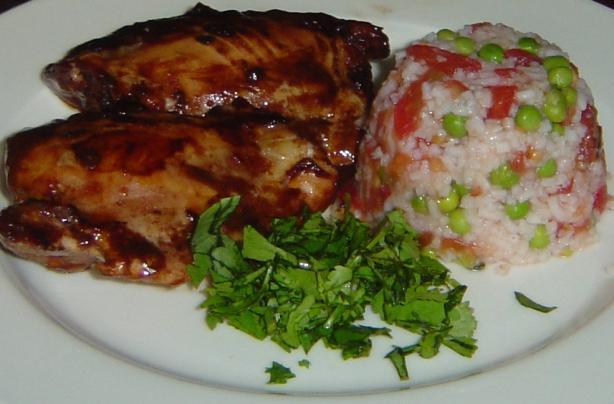 Mole Bbq Chicken
