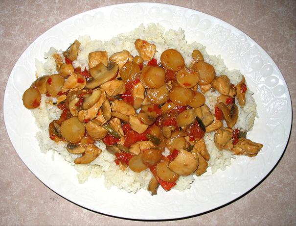 Oriental Chicken Stir Fry
