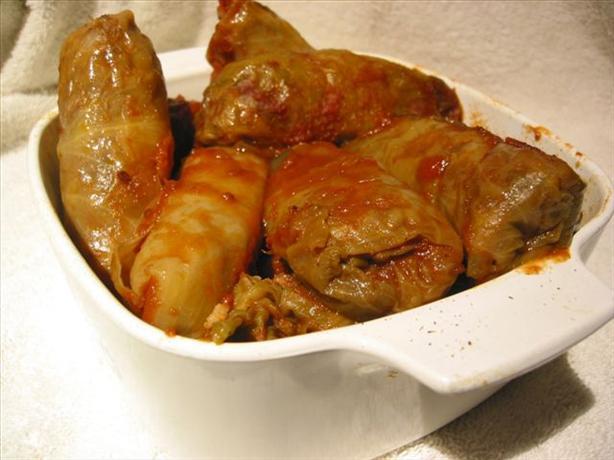 Oriental Cabbage Rolls