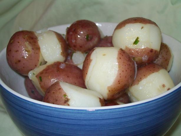 New Potatoes With Lemon Butter