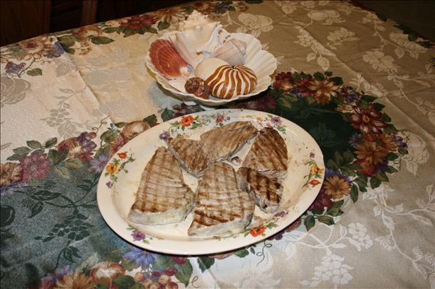 Grilled Florida Tuna