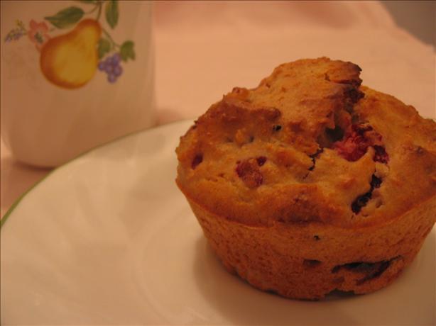 Strawberry Pecan Muffins