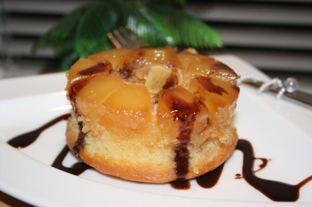 Pineapple-Garlic Upside Down Cake