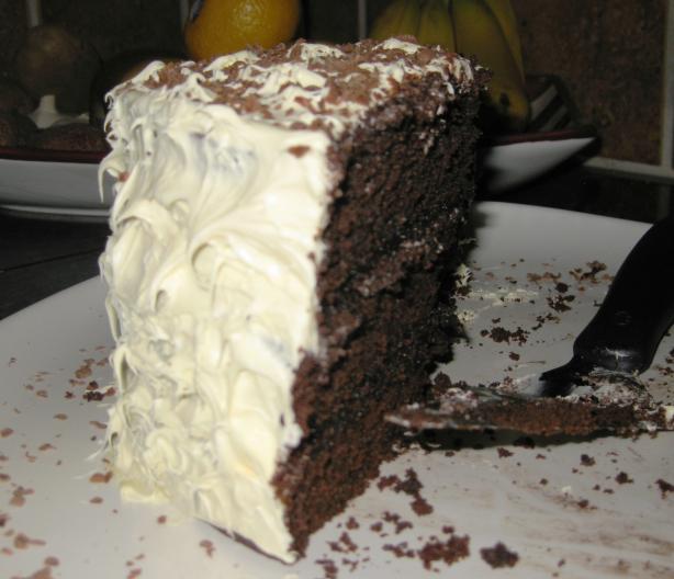Corner Espresso Shop Chocolate Cake