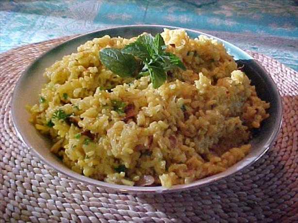 Golden Pineapple Rice