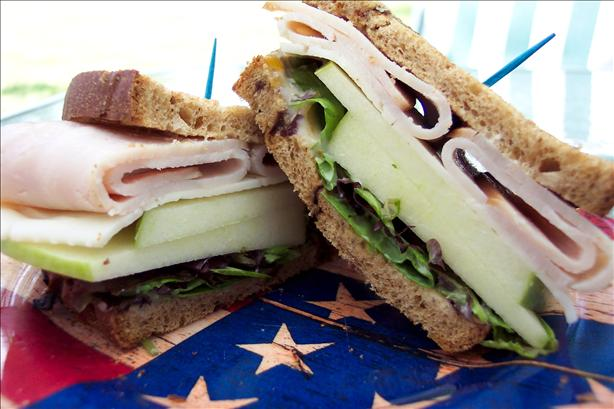 Pop's Roast Turkey Sandwich