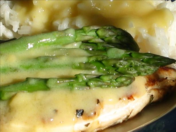 Asparagus Chicken With Hollandaise Sauce
