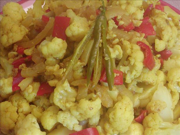 Curried Cauliflower Florets (sweet & Spicy)