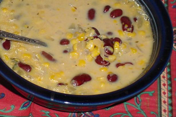 Corn and Bean Chowder