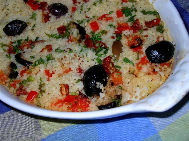 Couscous Encrusted Tilapia