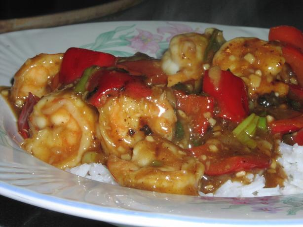 Spicy Shrimp With Hot Chili Peppers