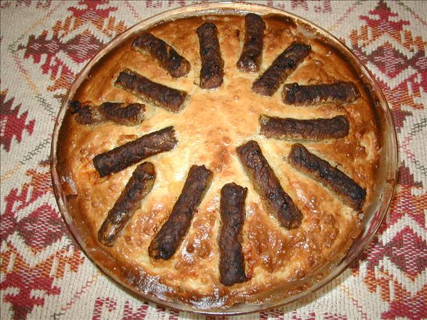 Wagon Wheel Sausage Pie