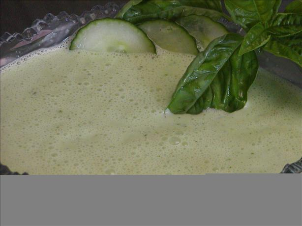 Yogurt-cucumber Basil Sauce