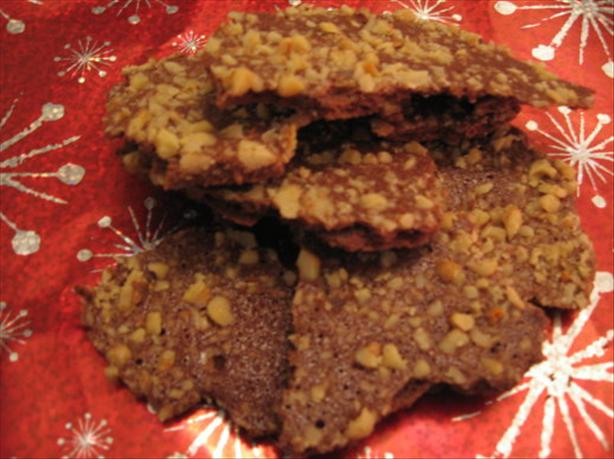 Spiced Nutty Cookie Crackle