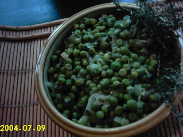Parsley Peas