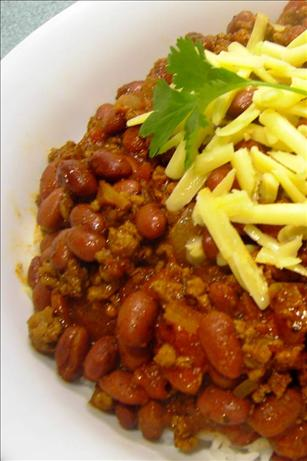 Bryan's Chocolate Lamb Chili