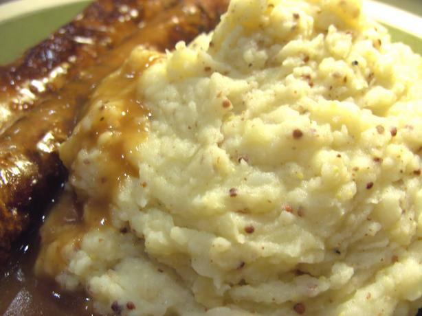 Dijon Mashed Potatoes