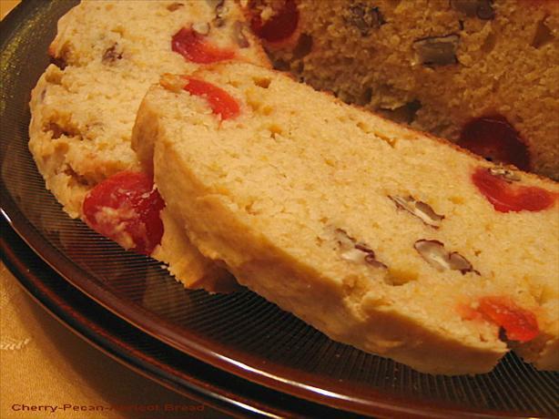 Cherry-Pecan-Apricot Bread