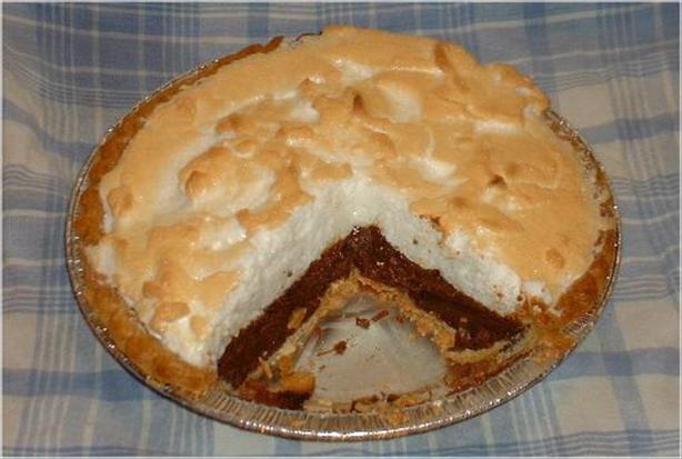 Blender Chocolate Pie
