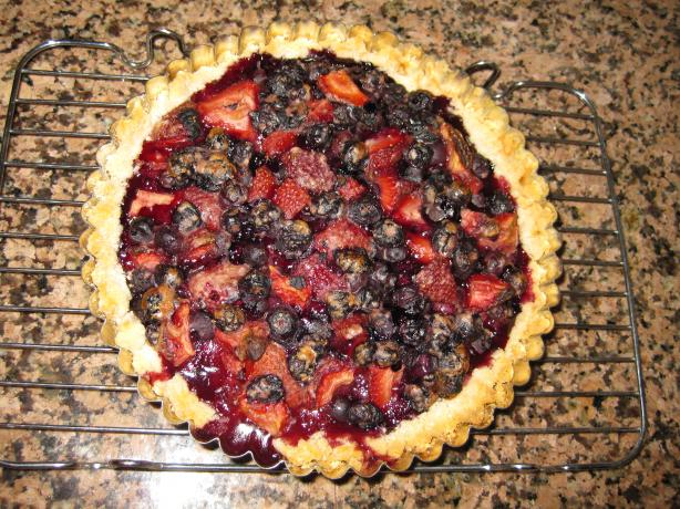 Blueberry Tart - Couldn't Be Easier