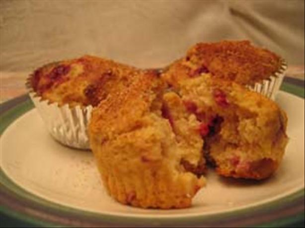 Accidental Orange Raspberry Muffins