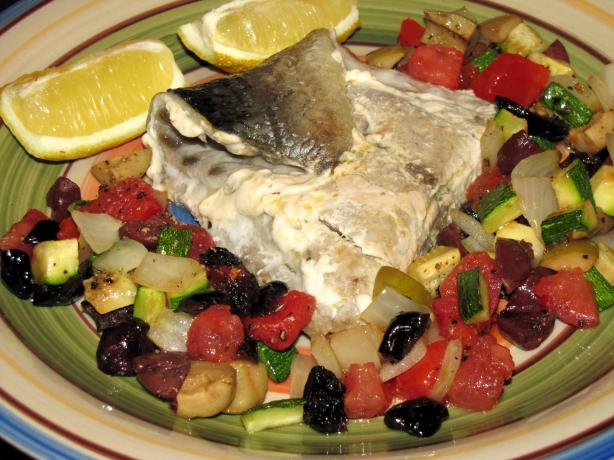 Chip's Grilled Bluefish