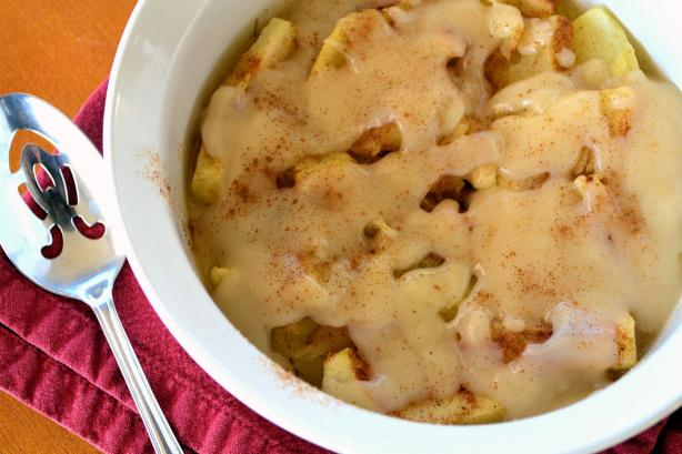 Creamy Baked Apples