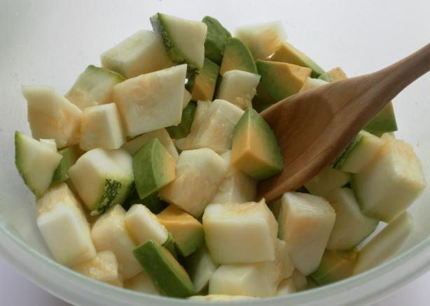 Zucchini Avocado Salad