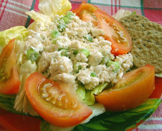 Creamy Cheesy Crab Salad