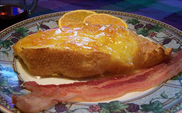 Overnight Orange French Toast