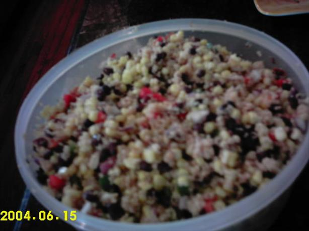 Confetti Corn Couscous Salad