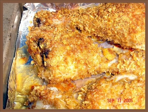 Corn Flake Drumsticks Bake