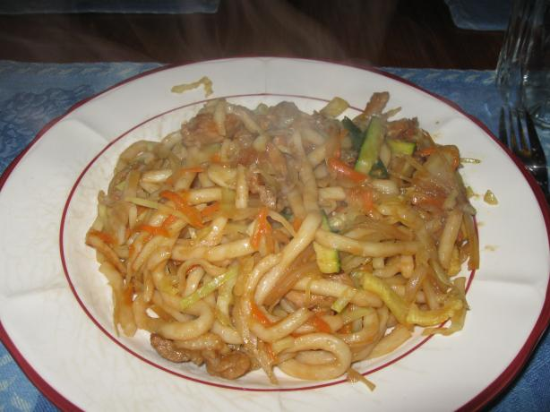 Kosher Yakisoba or Udon