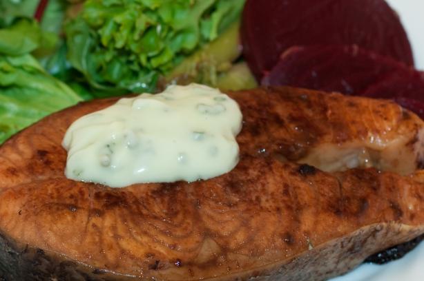 Grilled Wasabi Salmon