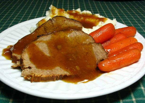 Easy Delicious Slow Cooker Roast Beef