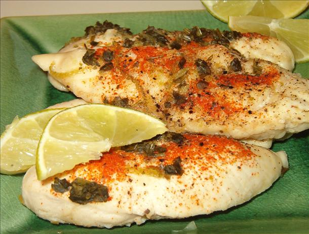 Limed Mexican Chicken