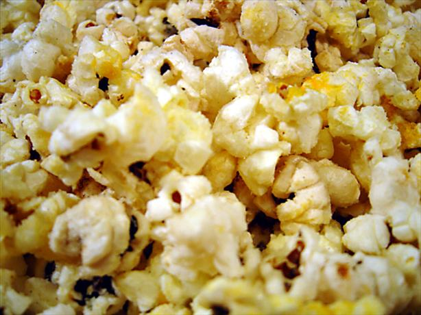 Garlic Butter & Cheese Popcorn