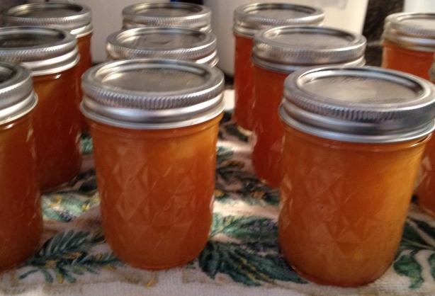 Cantaloupe Peach Jam