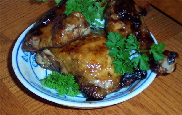 Southern Barbecued Chicken (Grill, Broiler or Oven)