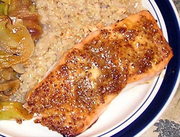 Ginger Dijon Salmon