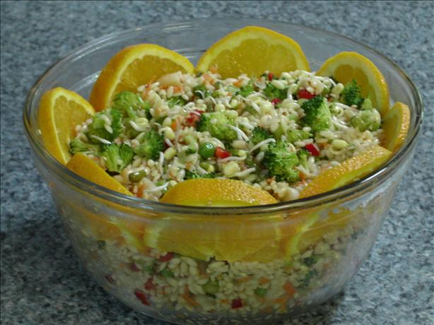 Light and Refreshing Sesame Orzo Salad