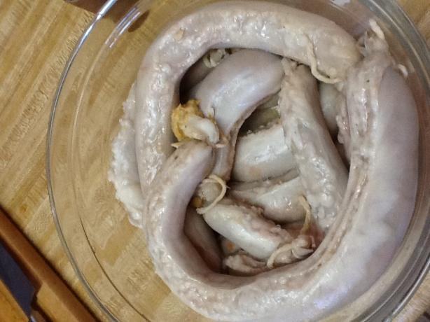 Stuffed Kishka: (Kosher Stuffed Derma)
