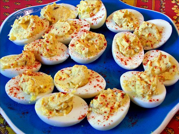 Dale's Peppy Deviled Eggs