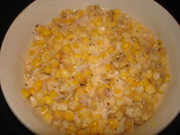 Feta Creamed Corn