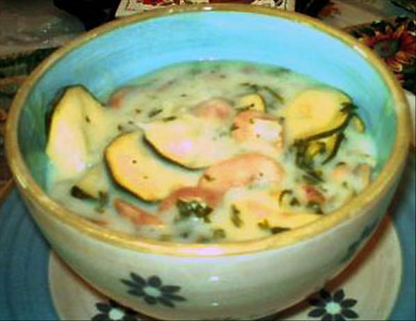 Garden Zucchini Bisque